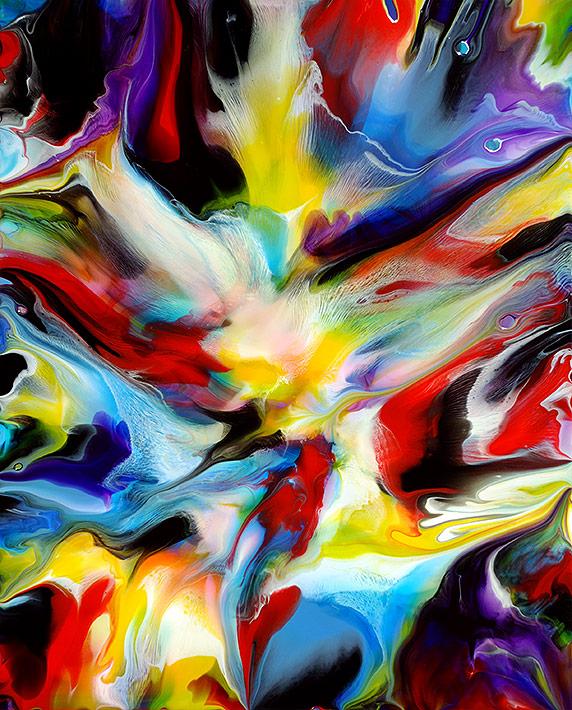 Fluid Painting 107