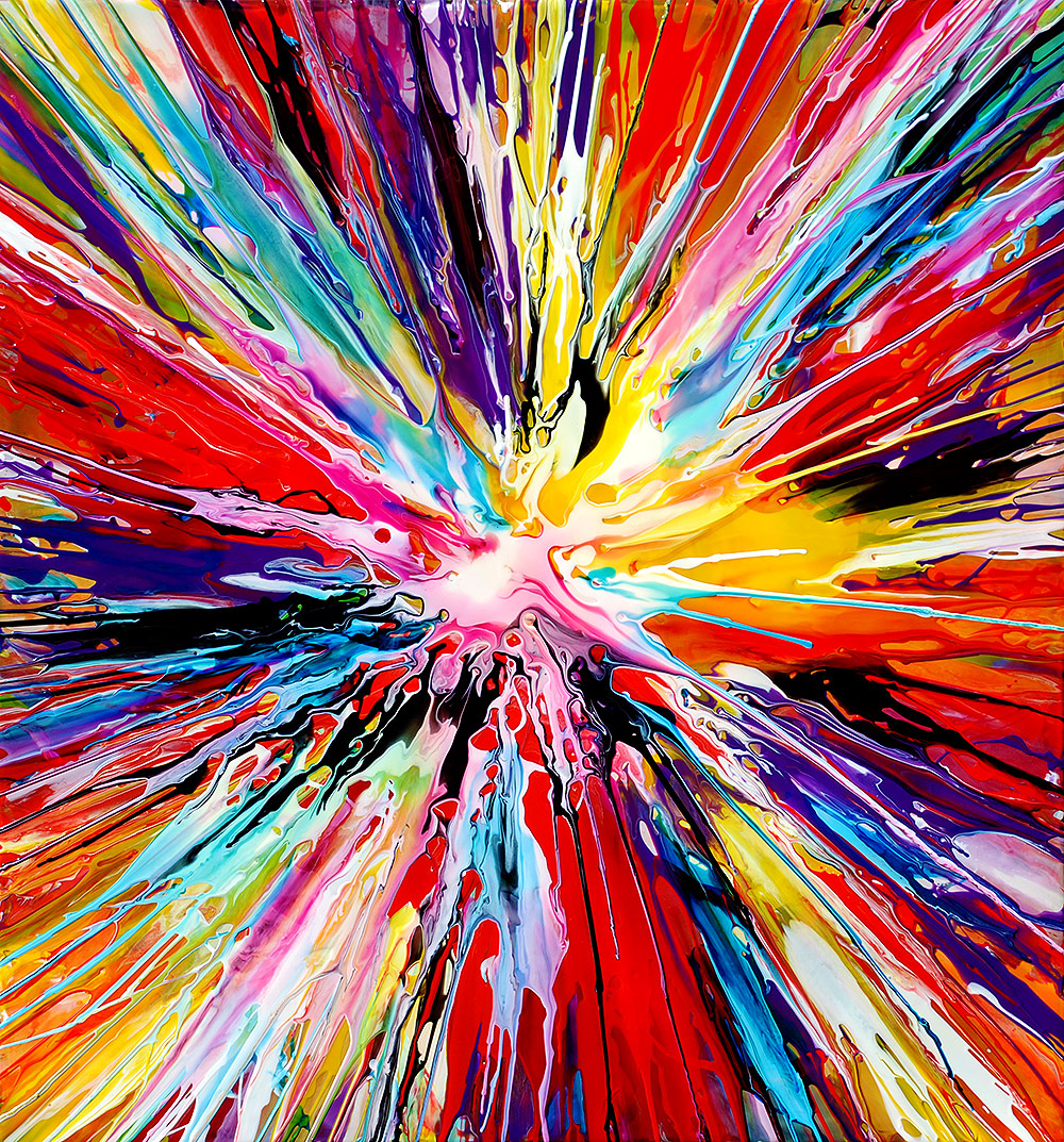 Mark chadwick fine artist abstract art for Abstract mural art